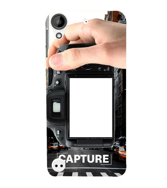 Capture Photo Back Cover for HTC Desire 530