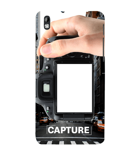 Capture Photo Back Cover for HTC Desire 816
