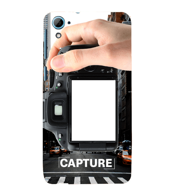 Capture Photo Back Cover for HTC Desire 826