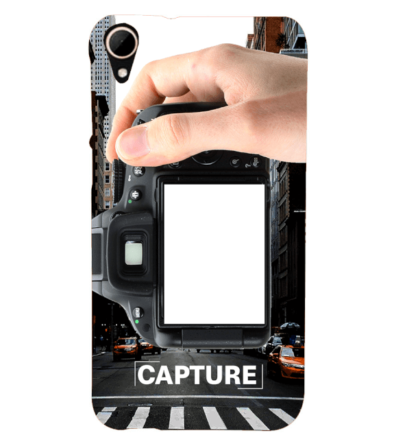 Capture Photo Back Cover for HTC Desire 828