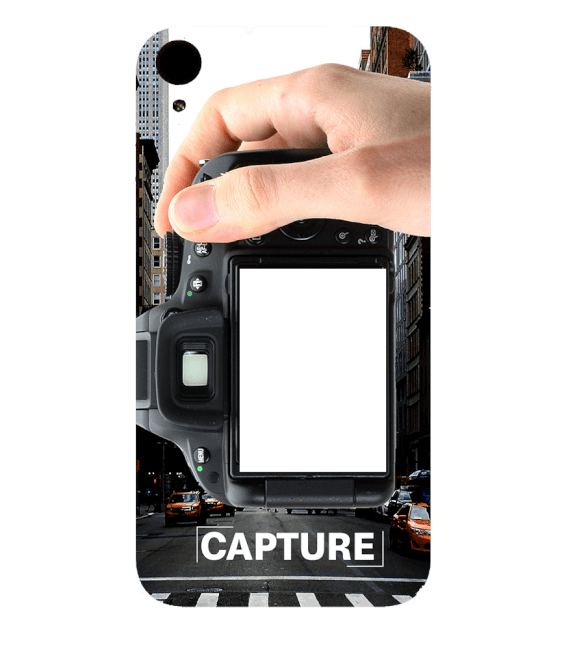 Capture Photo Back Cover for HTC Desire 830