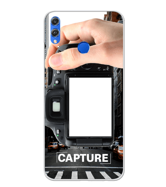 Capture Photo Back Cover for Huawei Honor 8X