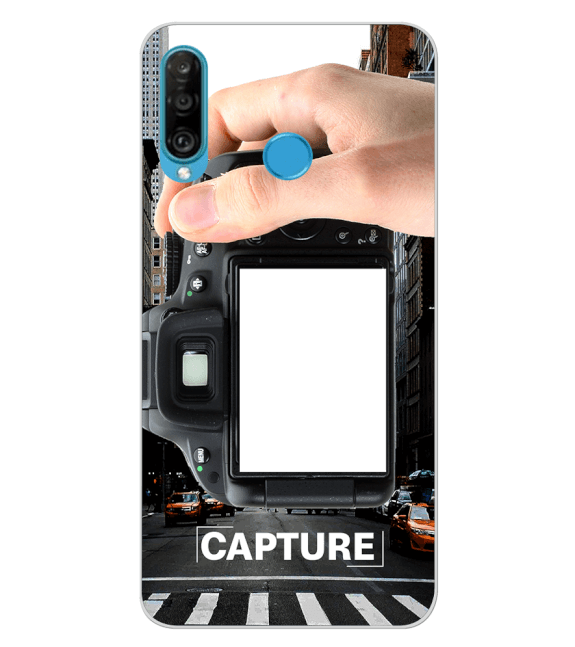 Capture Photo Back Cover for Huawei P30 lite