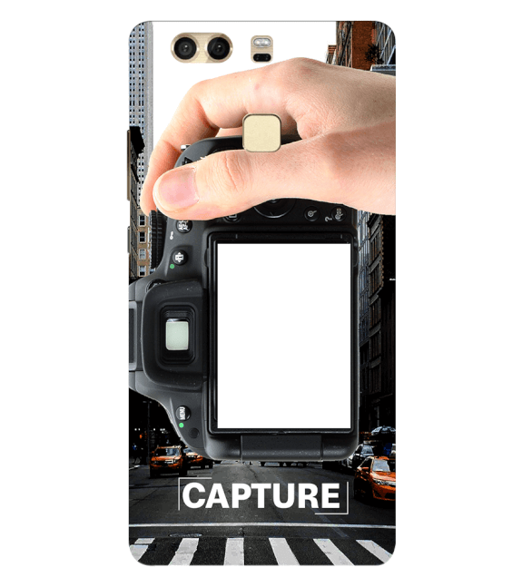Capture Photo Back Cover for Huawei P9