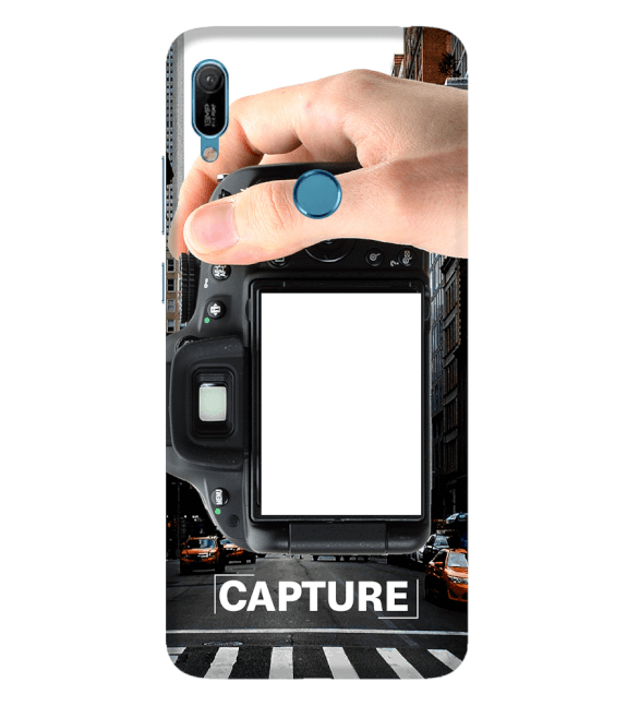Capture Photo Back Cover for Huawei Y6 Prime (2019)