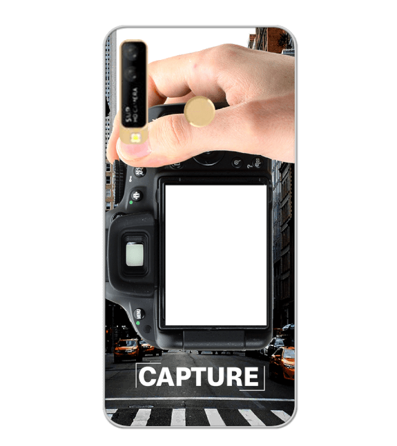 Capture Photo Back Cover for iKall K10