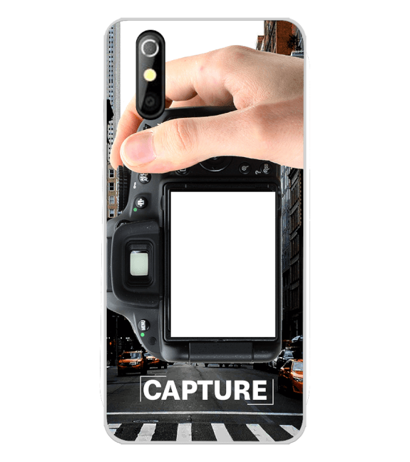 Capture Photo Back Cover for iKall K200