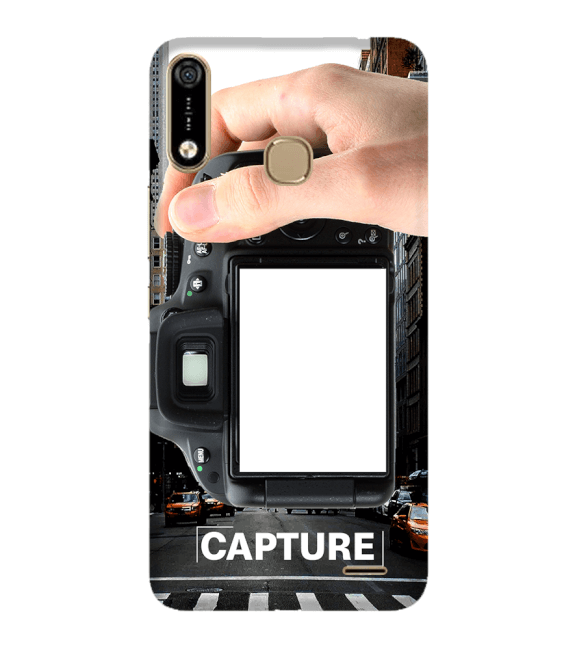 Capture Photo Back Cover for Infinix Hot 7 Pro