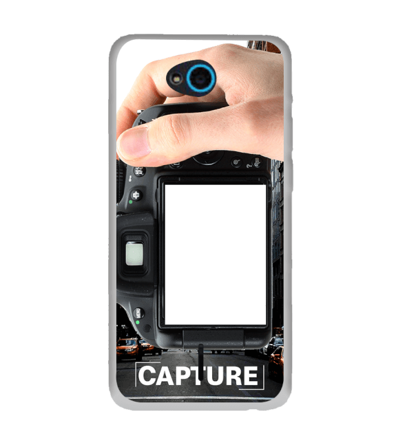 Capture Photo Back Cover for InFocus Bingo 21