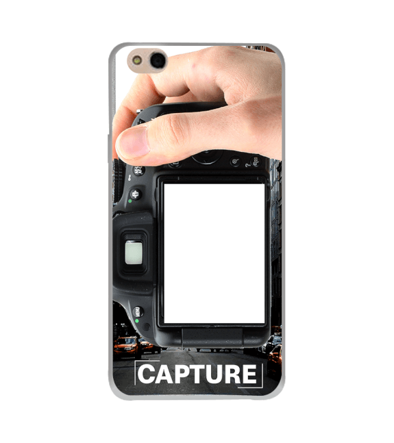 Capture Photo Back Cover for InFocus Bingo 50 Plus