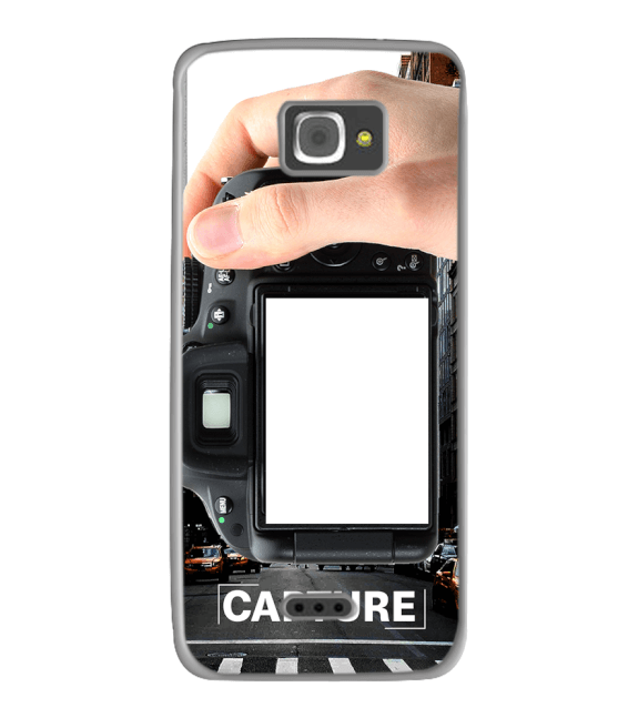 Capture Photo Back Cover for InFocus M350
