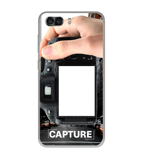 Capture Photo Back Cover for InFocus Turbo 5 Plus