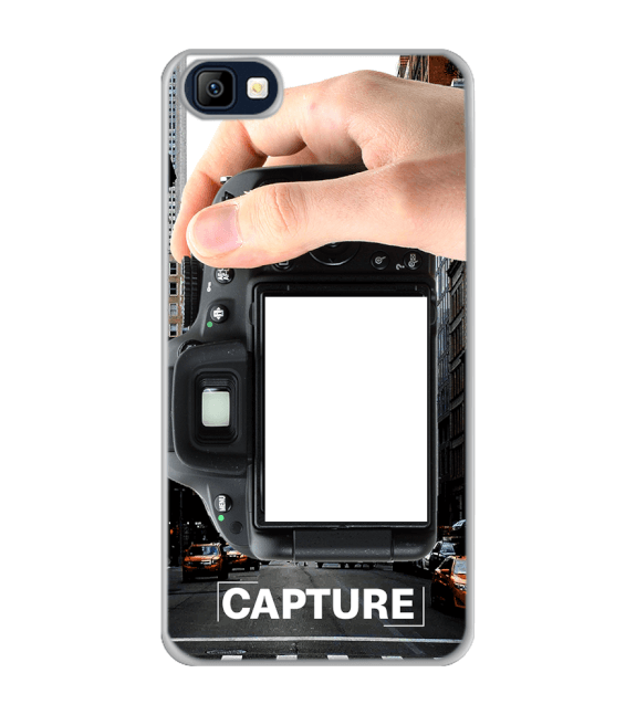 Capture Photo Back Cover for Karbonn K9 Smart Selfie