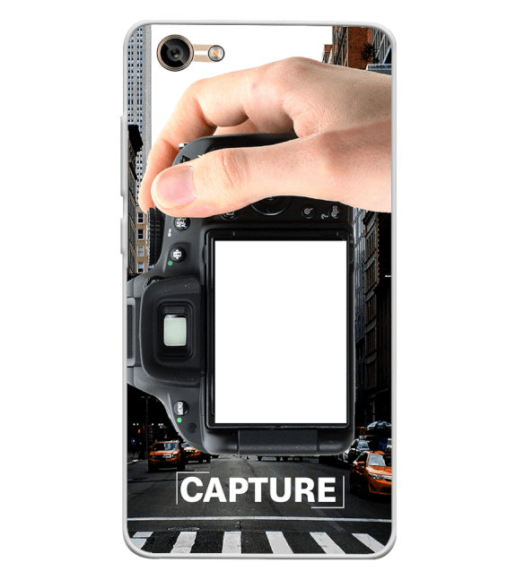 Capture Photo Back Cover for Lava A77
