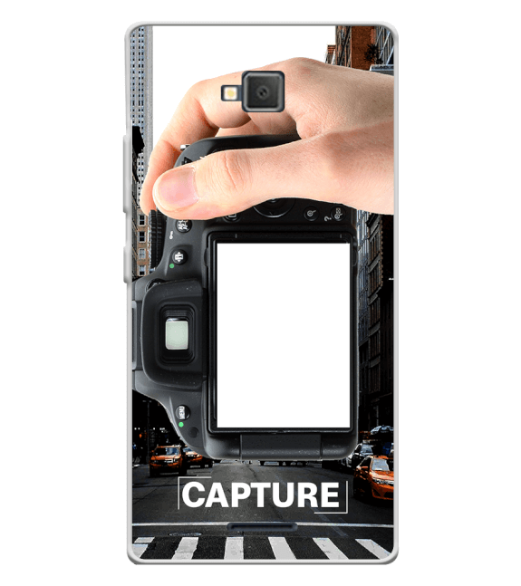 Capture Photo Back Cover for Lava A82