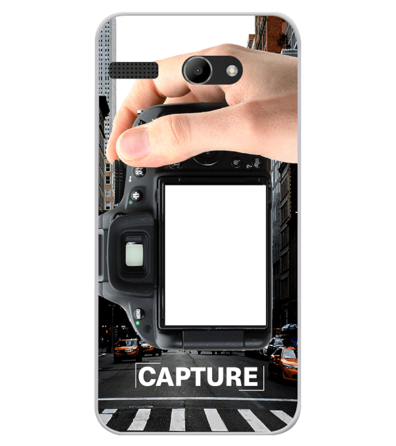 Capture Photo Back Cover for Lava Iris Atom X