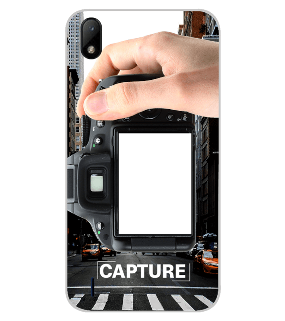 Capture Photo Back Cover for Lava Z41