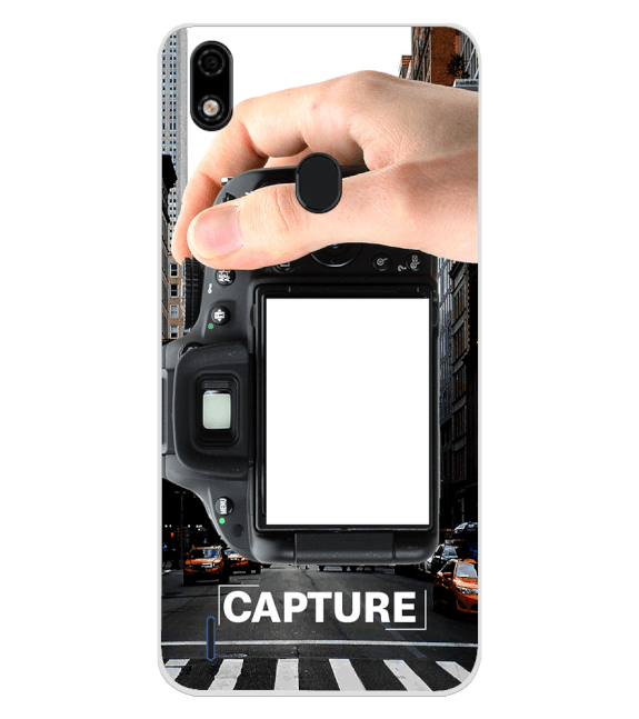 Capture Photo Back Cover for Lava Z52 Pro
