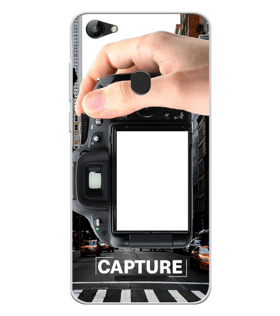 Capture Photo Back Cover for Lava Z81