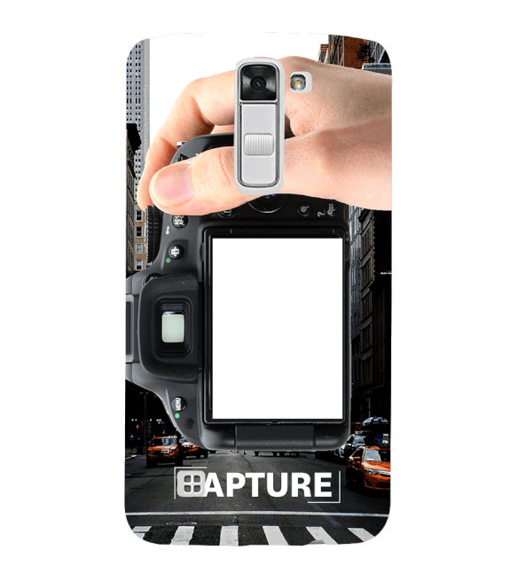 Capture Photo Back Cover for LG K10