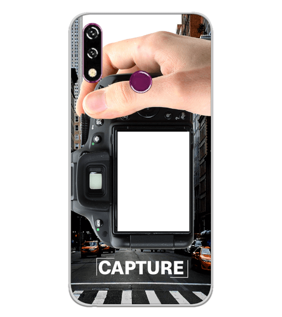Capture Photo Back Cover for LG W10