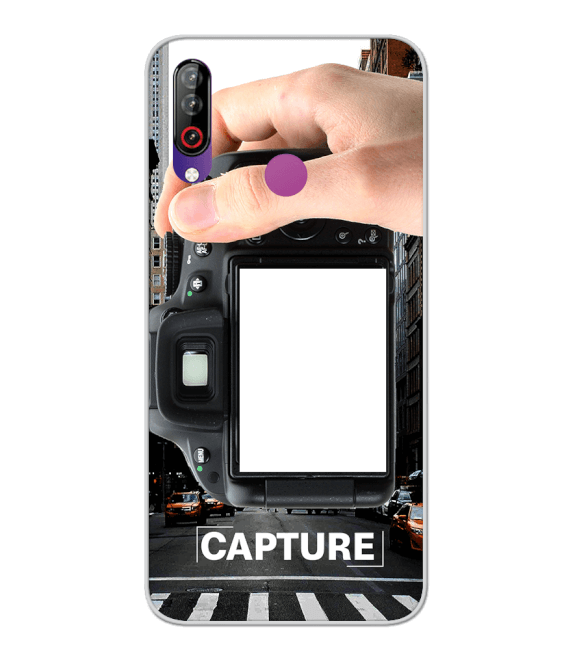 Capture Photo Back Cover for LG W30