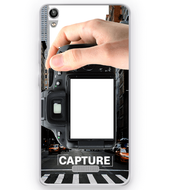 Capture Photo Back Cover for Micromax Canvas Fire 5 Q386