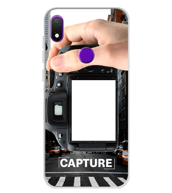 Capture Photo Back Cover for Mobiistar X1 Notch