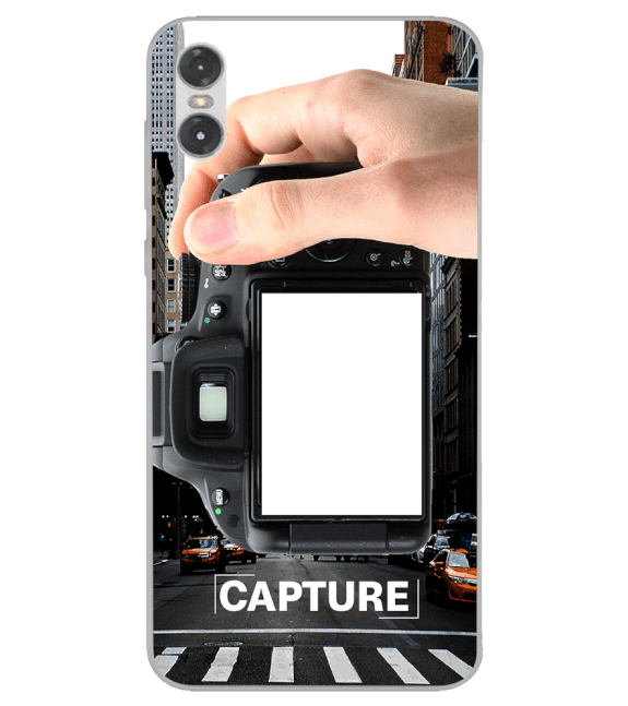 Capture Photo Back Cover for Motorola One (P30 Play)