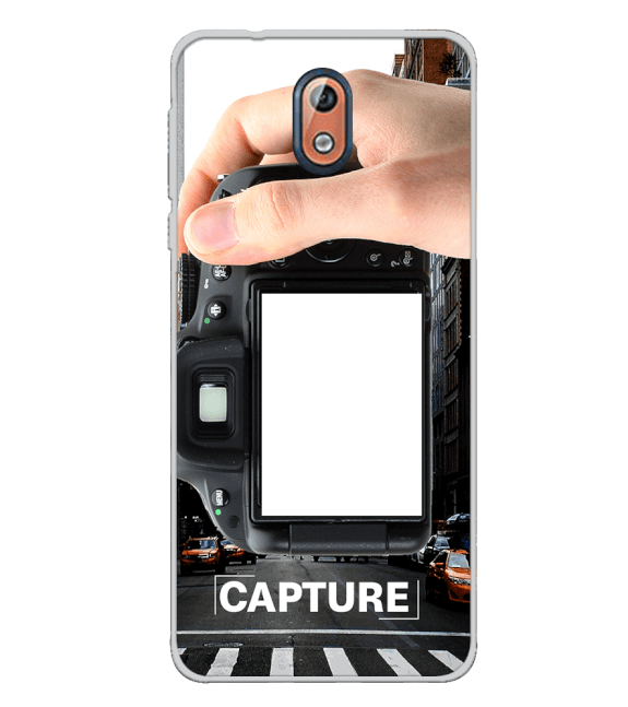 Capture Photo Back Cover for Nokia 3.1 (2018)