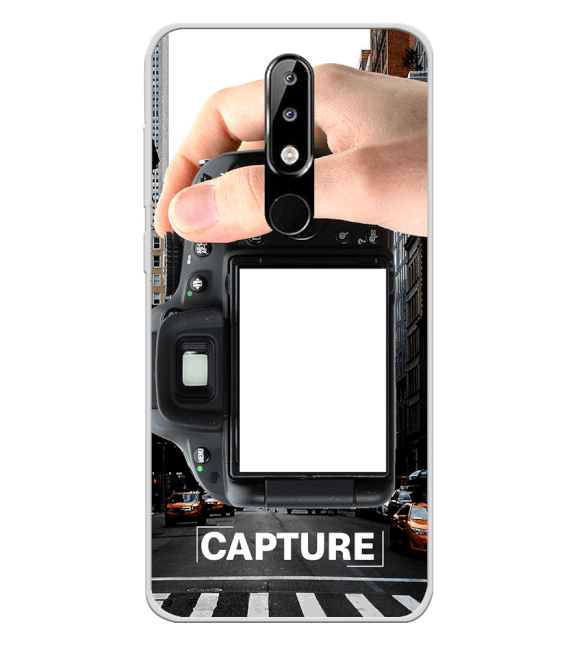 Capture Photo Back Cover for Nokia 5.1 Plus (Nokia X5)