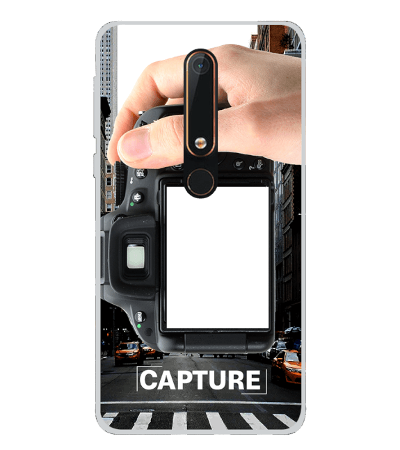 Capture Photo Back Cover for Nokia 6.1 (2018)