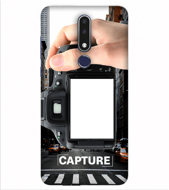Capture Photo Back Cover for Nokia 7.1