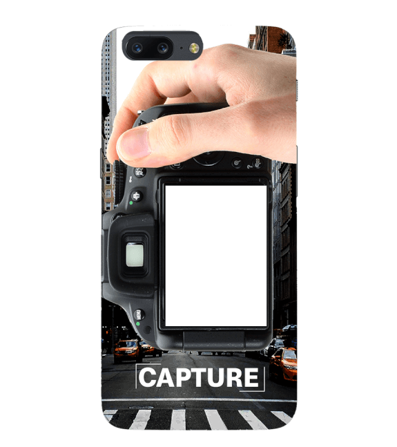 Capture Photo Back Cover for OnePlus 5