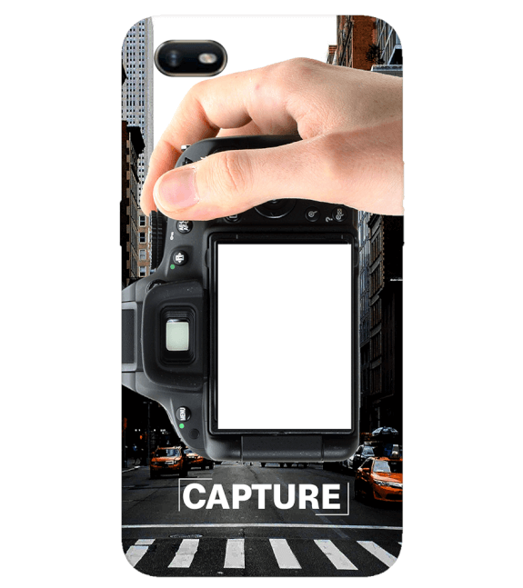 Capture Photo Back Cover for Oppo A1k