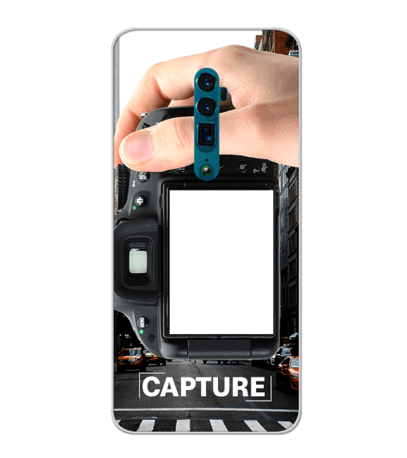 Capture Photo Back Cover for Oppo Reno 10x zoom