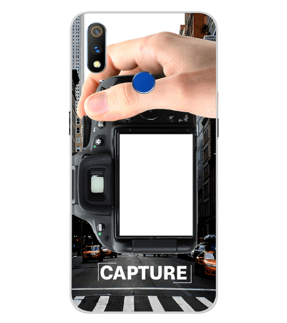 Capture Photo Back Cover for Realme 3 Pro