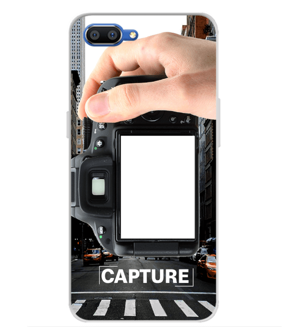 Capture Photo Back Cover for Realme C1 (2019)