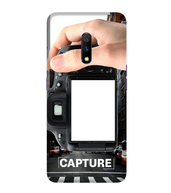Capture Photo Back Cover for Realme X