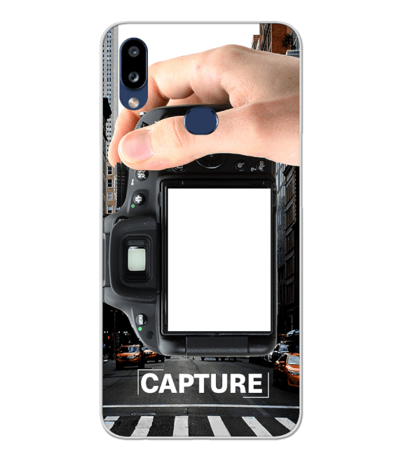 Capture Photo Back Cover for Samsung Galaxy A10s