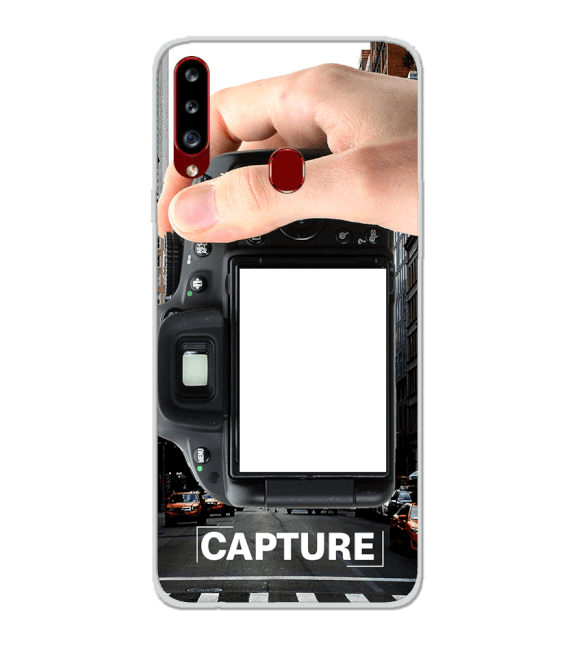 Capture Photo Back Cover for Samsung Galaxy A20s