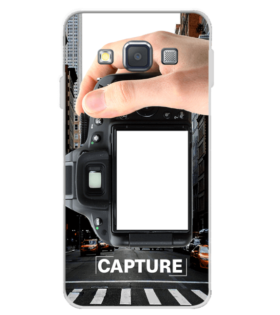 Capture Photo Back Cover for Samsung Galaxy A3 (2015)