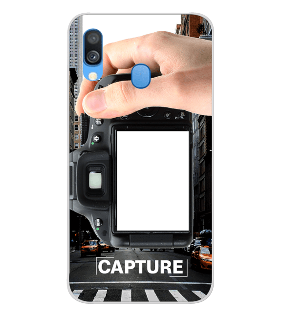 Capture Photo Back Cover for Samsung Galaxy A40