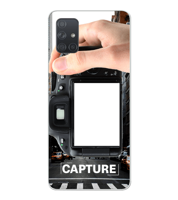 Capture Photo Back Cover for Samsung Galaxy A71