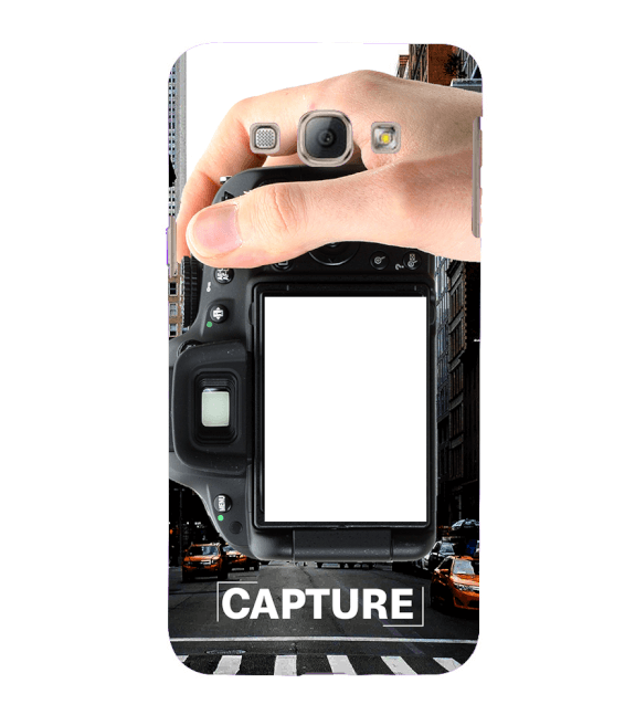 Capture Photo Back Cover for Samsung Galaxy A8 (2015)