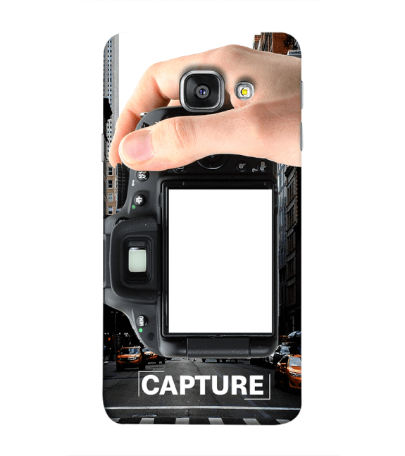 Capture Photo Back Cover for Samsung Galaxy A9 Pro