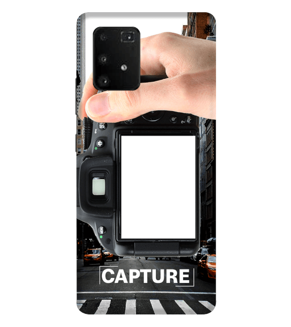 Capture Photo Back Cover for Samsung Galaxy A91