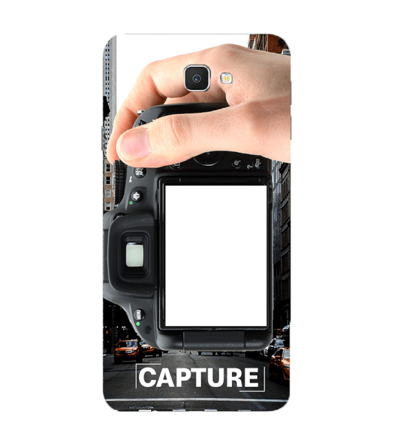 Capture Photo Back Cover for Samsung Galaxy C9 Pro