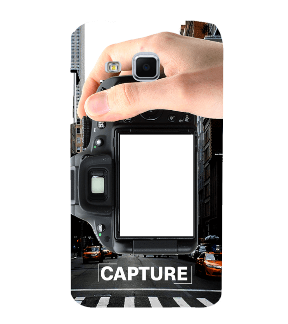 Capture Photo Back Cover for Samsung Galaxy J3
