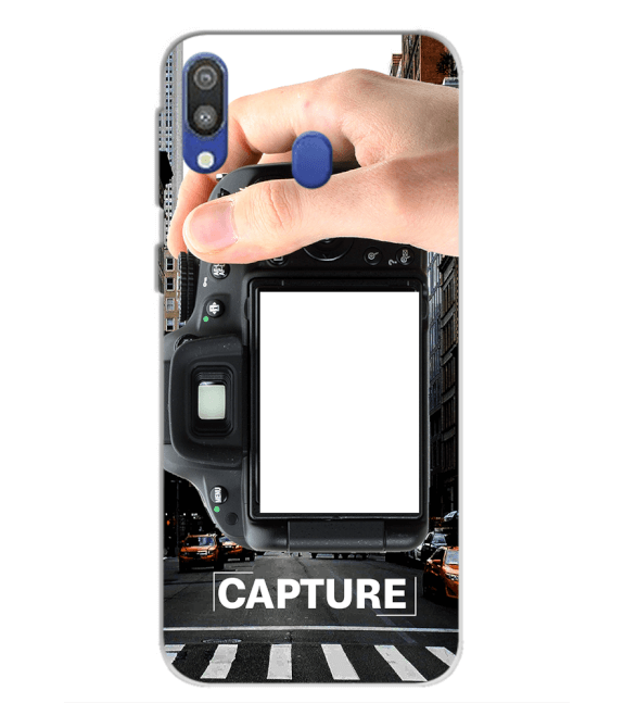 Capture Photo Back Cover for Samsung Galaxy M20